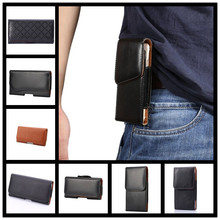ZTE Blade V7 Lite Cover Mobile Phone Case Leather Belt Clip Pouch Bag - leather factory store