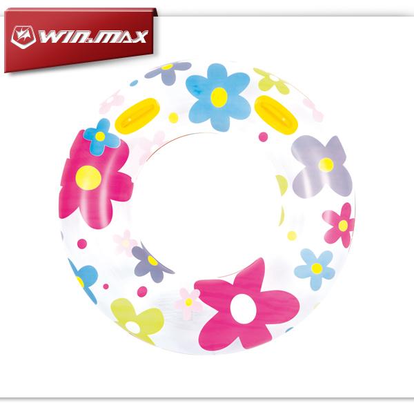 Winmax Fashion Inflatable Adult Swim Ring Circle Pool Floats Inflatable Circle Swimming Ring(China (Mainland))