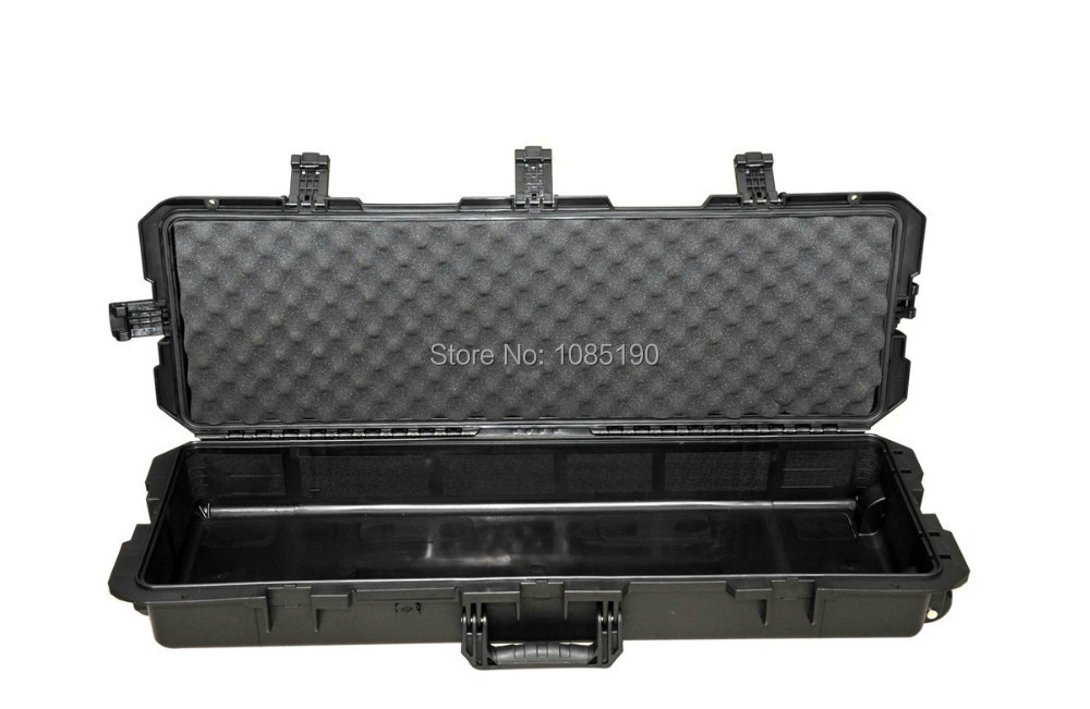 Tricases utility engineer pp hard plastic rifle gun Case M710 with Foam(China (Mainland))
