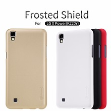 Buy case LG X Power K220Y NILLKIN Super Frosted Shield matte back cover case LG X Power K220Y free screen protector for $7.19 in AliExpress store