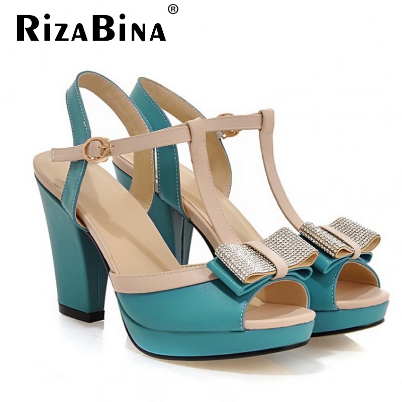 CooLcept free shipping thick high heel sandals women sexy fashion lady buckle shoes P13309 hot sale EUR size 34-40<br><br>Aliexpress