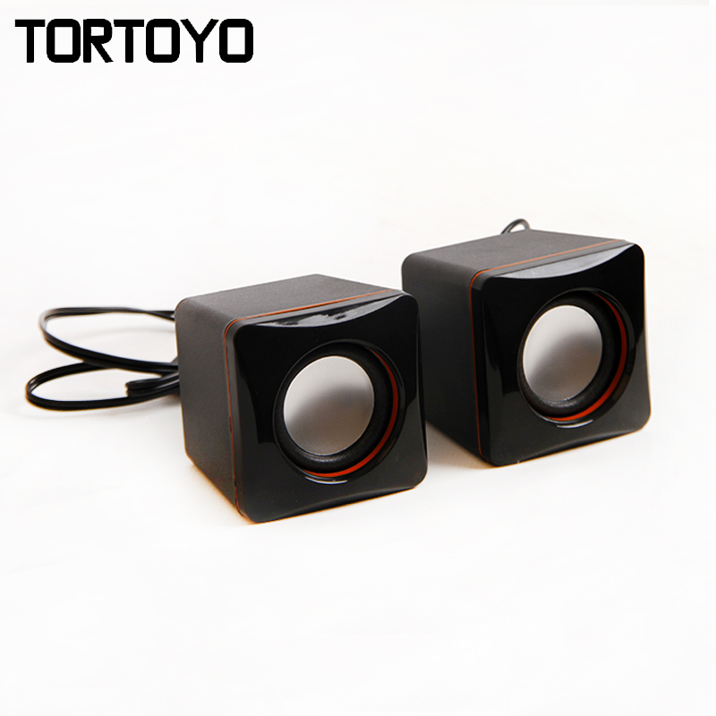 Mini Portable Surround Subwoofer Stereo Bass USB Speaker PC Computer Speakers Loudspeaker HD Voice Box for Phone Laptop Notebook(China (Mainland))