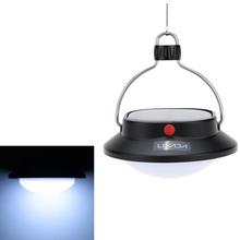 LIXADA Portable Outdoor Solar Lights Led Camping Lamp Adjustable Brightness LED Camping Lantern USB Port Charging With SOS Mode(China (Mainland))