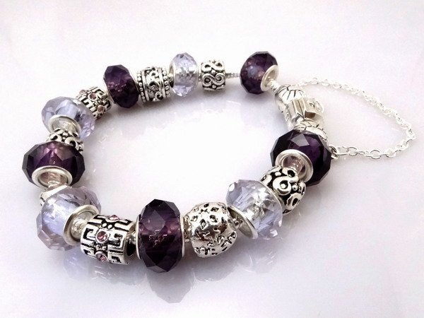 Hot!Free Shipping wholesale 925 Sterling Silver jewelry charms bracelet silver bracelet. crystal beads bracelet  Pp012