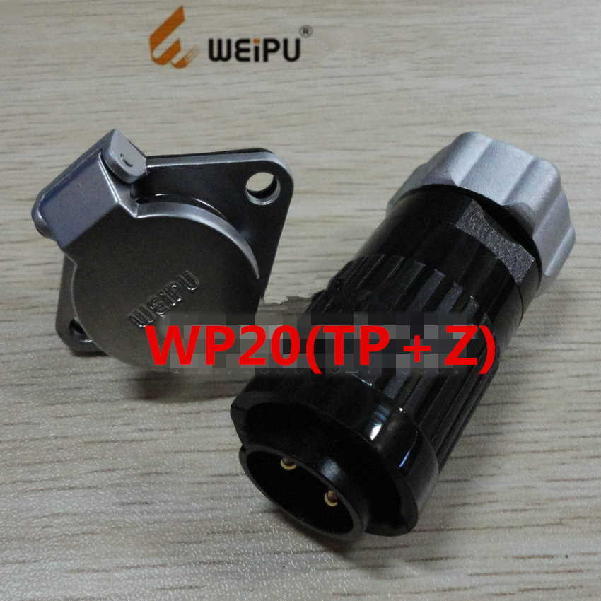 Original for WEIPU WP20(TP/Z) industrial aviation connector 2P 3P 4P 5P 7P 9P 12P LED screen plug socket, free shipping<br><br>Aliexpress