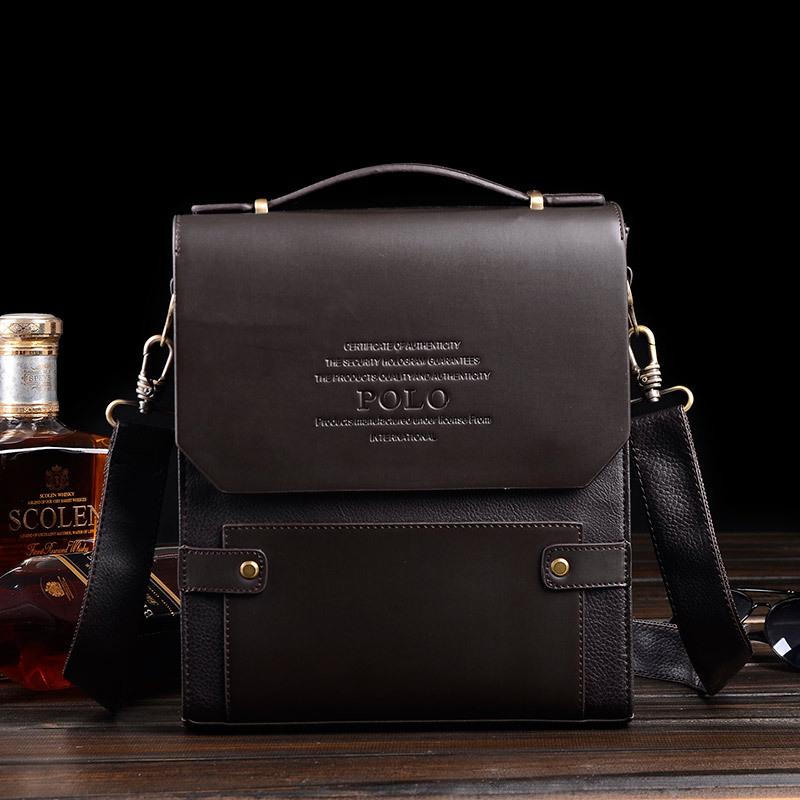 New Arrived POLO men's messenger bag handbag Brand Business briefcase fashion shoulder bag crossbody bag Free Shipping(China (Mainland))