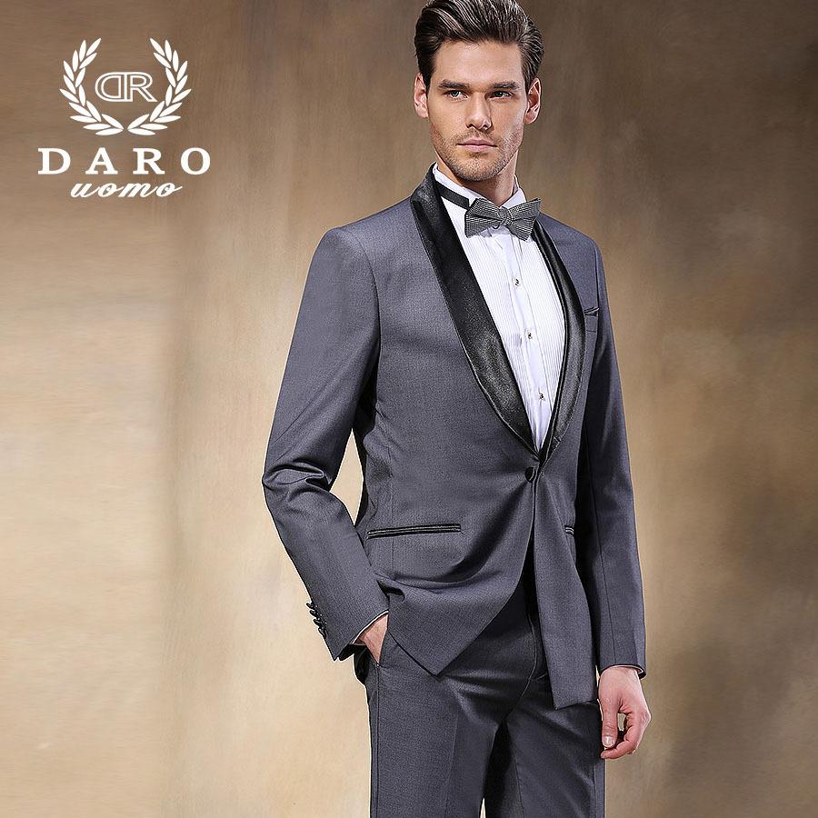 Aliexpress Com Buy Brand Darouomo Luxury Mens Suits Jacket Pants Formal Dress Men Suit Set