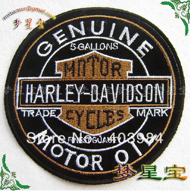~3 Embroidered MXB253 Iron Sew Patch Applique Badge - Mackie Wong's store