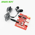 Newest Bluetooth wireless audio receiver module board speaker amplifiers modifie adapter TF card USB Speaker 3