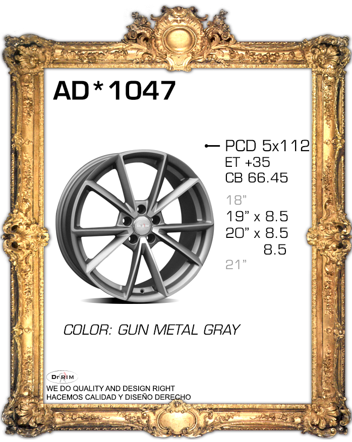 """19"""" X4 5X112 AUDI RS7 STYLE ALUMINUM ALLOY WHEEL RIMS BRAND NEW 2015 STYLE FITS AUDI V.W AND MANY MORE(China (Mainland))"""