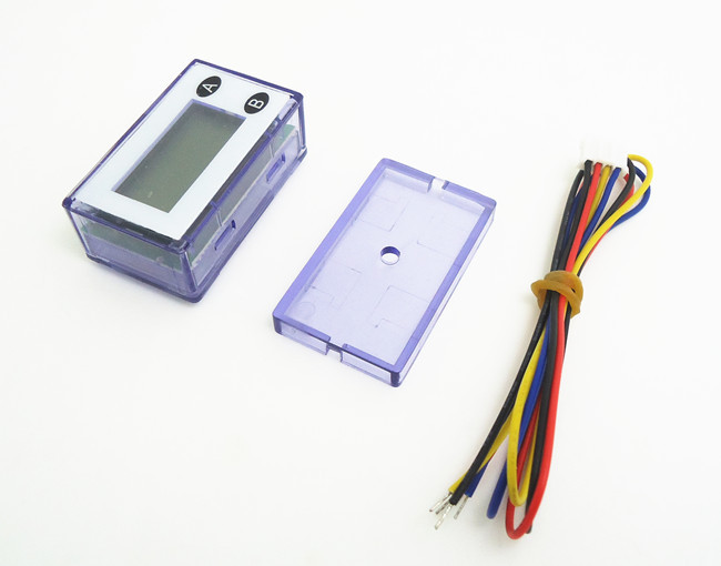 Здесь можно купить  10 pcs of purple NON-RESET 7 digits LCD coin Counter meter, arcade game parts, free to connect to coin selector acceptor  Бытовая электроника