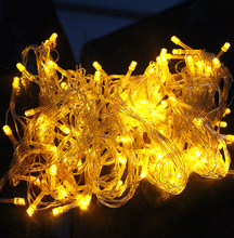 10M 100 LED Home Outdoor Holiday Christmas Decorative Wedding xmas String Fairy Garlands Strip Party Lights free shipping