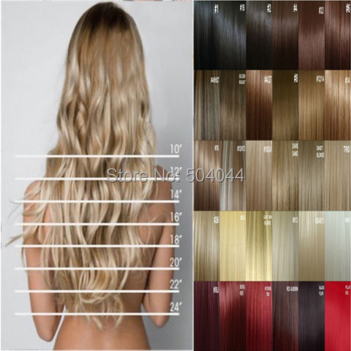 "free shipping 24""(60cm)1pcs set 95g-105g 17colors Long Straight Synthetic Hair 1pcs Clip in on hair extensions(China (Mainland))"