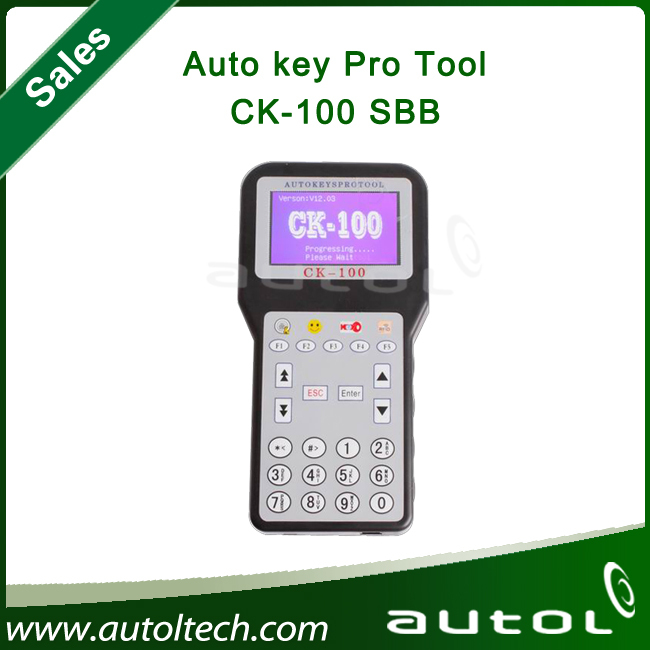 2013 Top-rated New Arrival CK-100 CK100 OBD2 Car Key Programmer V39.02 SBB the Latest Generation ck100 key programmer(China (Mainland))