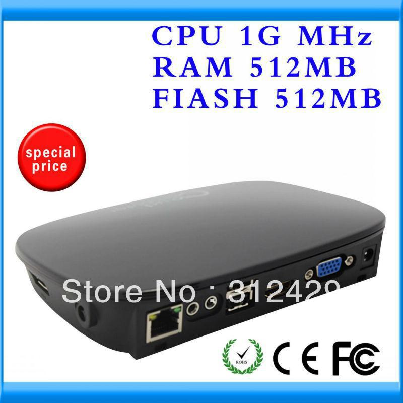 Ncomputing network share pc terminal pc station FOX-300VH with Linux 2.6 OS ARM-A9 Framework support HDMI(China (Mainland))