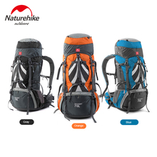 Buy NH Naturehike High Quality Outdoor Climbing Bag Trekking Camping Hiking Travel Bags Backpack Big Load Knapsack Rucksack 70L +5L for $125.00 in AliExpress store