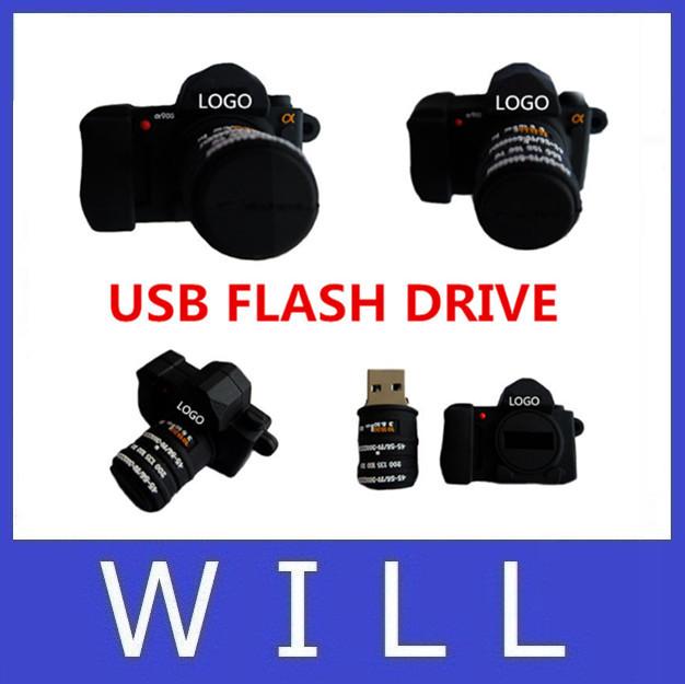 USB Flash Drive 64GB pen drive 32GB usb 2.0 16GB 8GB 4GB SLR camera flash card Memory stick lovely U Disk pendrive(China (Mainland))