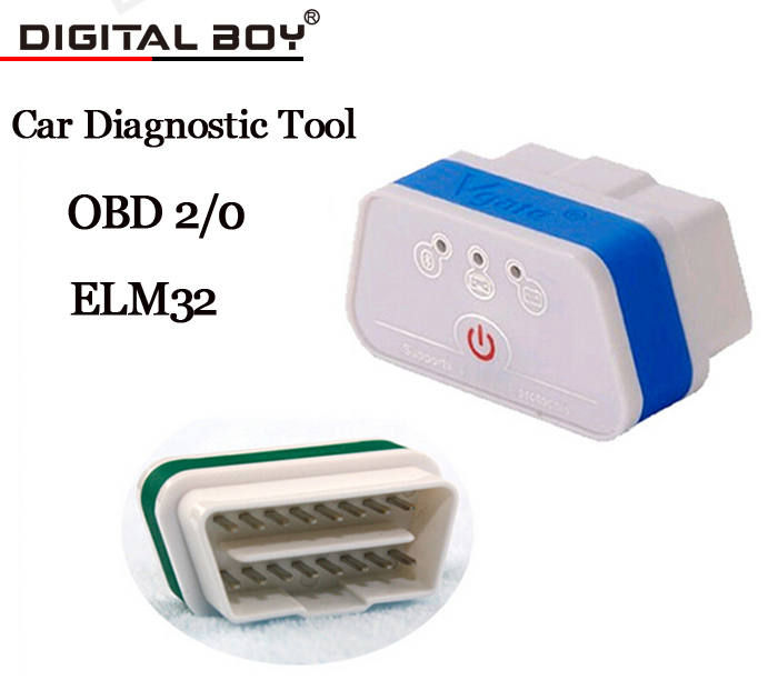 Оборудование для диагностики авто и мото Digital Boy Vgate iCar 3 2/OBDII ELM327 Bluetooth оборудование для диагностики авто и мото digital boy hh obd elm327 android bluetooth obd2 obdii can