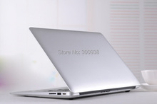 Full Aluminium Laptop computer i3-3217U Dual-core 1.86Ghz 8G RAM 64G SSD Computer  WiFI Win 7 ultrabook laptop Free Shipping