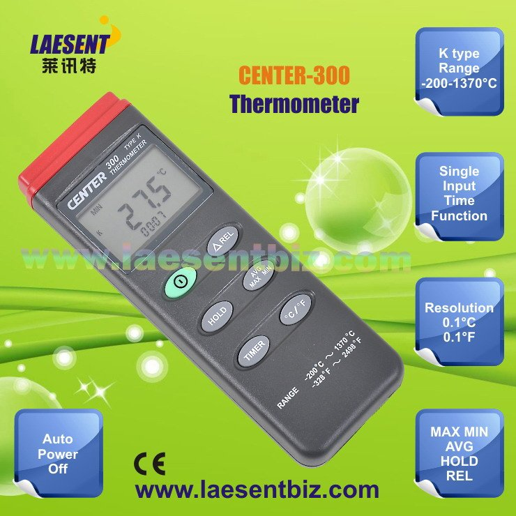 ~Free Shipping~Digital Thermometer CENTER-300(K-type:-200-1370C)<br><br>Aliexpress