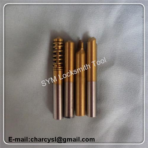 high speed steel free shipping mult-t lock set for key duplicating/Locksmith supplies key cutter for key cutting machines(China (Mainland))