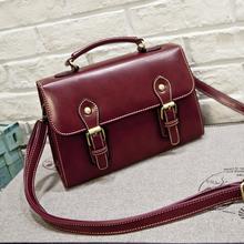 2016 New Fashion Retro Bag High Quality Designer Leather Handbag Messenger Bag Shoulder Bags Crossbody Bags For Women