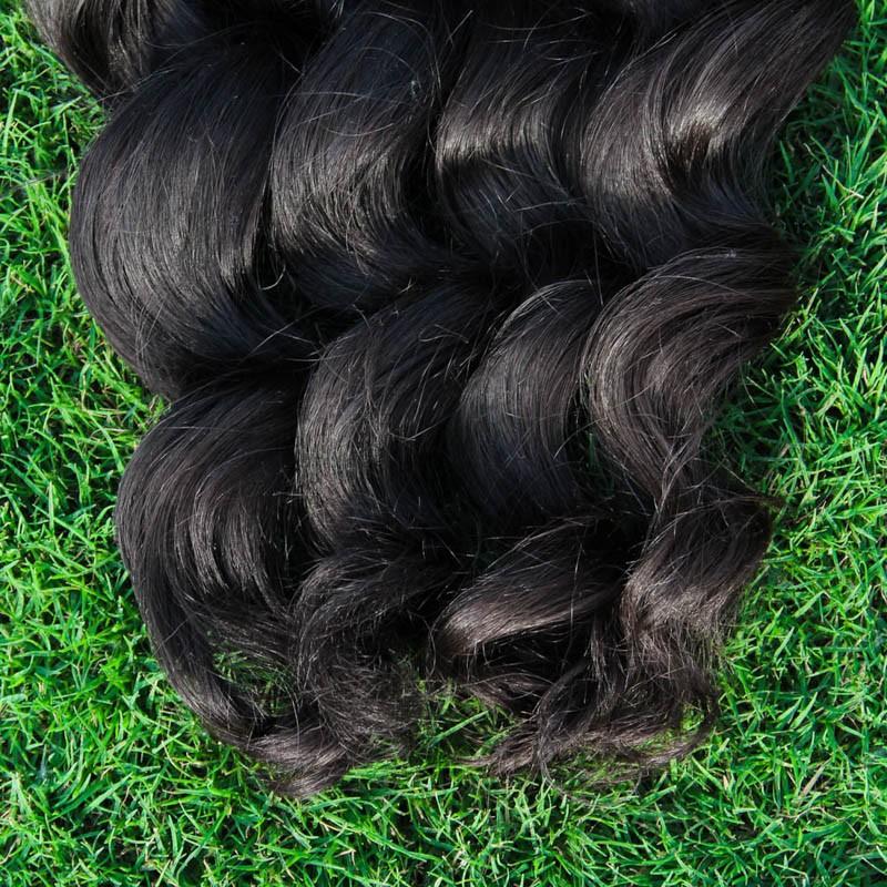 YWD 8A loose wave braiding human hair bulk 1kg bulk hair for braiding no attachment loose wave brazilian virgin hair 12-34 inch