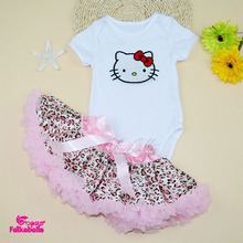 TUTU Skirts For Baby 2015 Stain Ball Gown Skirt + Cotton Bodysuit For 0-2 Years Newborn Girl Pettiskirts Clothing Sets(China (Mainland))