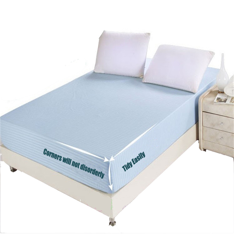 Hot sale new 100 cotton printing colorful twin queen king size fitted sheet mattress cover Queen mattress sets sale