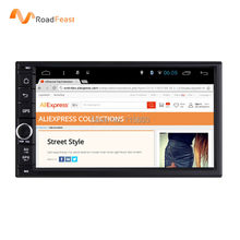 Pure Android 4.4 Full-Touch Car PC Tablet double 2din Audio 7'' GPS Navigation Car Stereo Radio mp3 Player Bluetooth iPod Wifi(China (Mainland))
