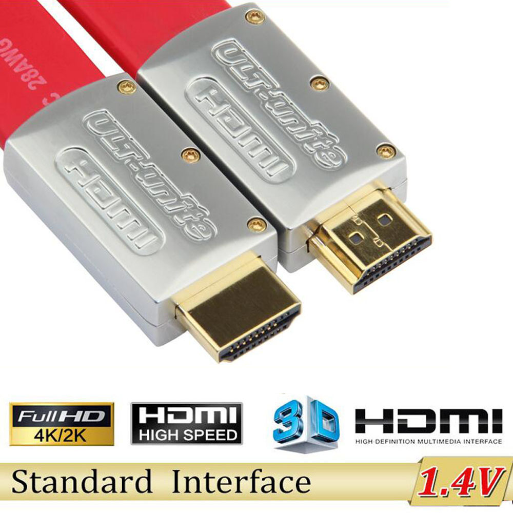 Wholesale 1M 2M 3M 5M 10M High Speed HDMI 2.0 Cable With ethernet Full HD 1080P 2160P 4K*2K 3D for PS3 LCD DVD HDTV(China (Mainland))