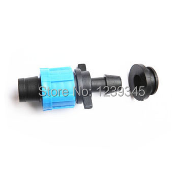 3pcs/lot 16mm hose bypass connection with rubber ring barbed connector for drip tape irrigation fitting free shipping(China (Mainland))