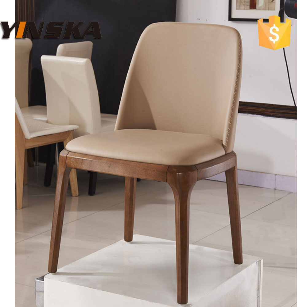 Master home furniture solid wood italian leather dining chair - Tapizar sillas de comedor ...