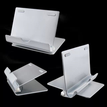 UH011 Universal Metal Premium Aluminum Metal Smartphone Tablet Desk Holder Stand for iPad for Samsung Galaxy Tab for Kindle