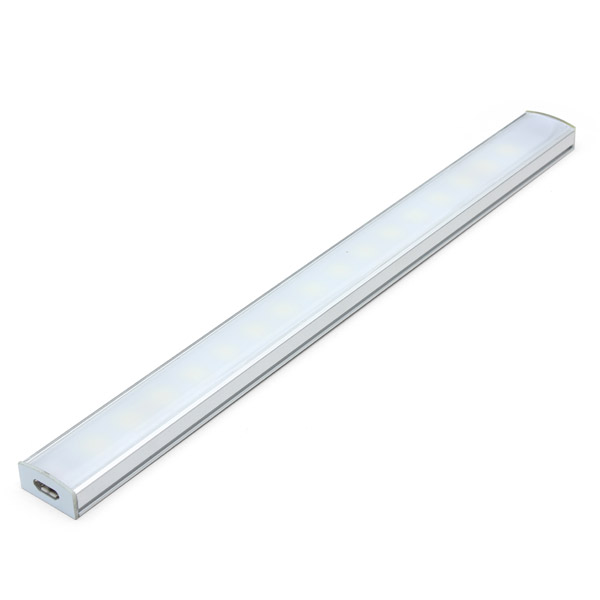 Big Promotion 25CM 5W Dimmable 25 SMD Super Bright USB LED Hard Rigid Strip Light Tube Computer Reading Lamp(China (Mainland))