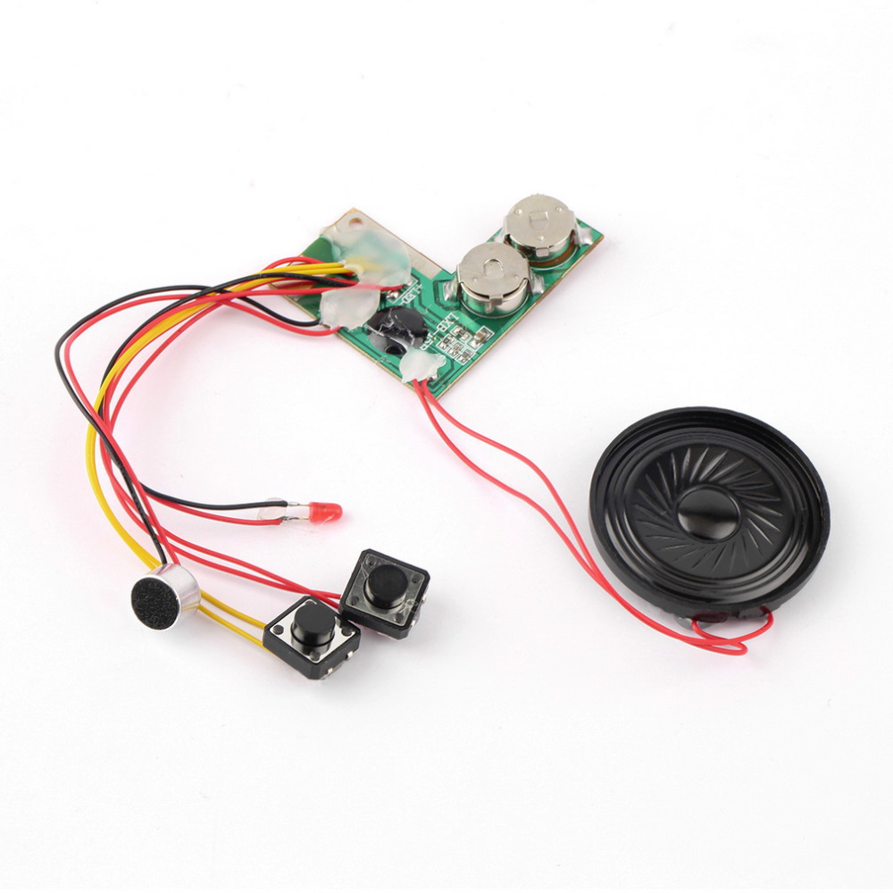 1pc sound Recordable Voice Module for Greeting Card Music Sound Talk chip musical Hot Worldwide(China (Mainland))