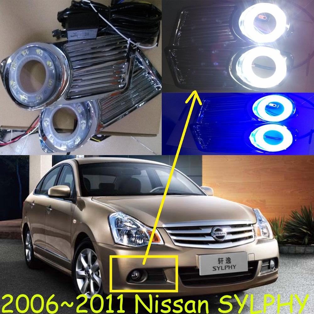 2006~2011 Bluebird daytime light,2pcs+wire,bluebird fog light,8W 12V, Sylphy fog light,6500K; sylphy daytime light,Free ship!<br><br>Aliexpress