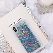 Glitter Phone Case For Huawei Mate 20 X 8 9 10 P20 Pro P8 P9 Lite Plus 2017 Liquid Quicksand Cover Honor Note 9 10 8X V10 Case(China)