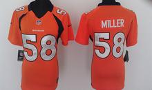 100% Stitiched,Denver Broncos Von Miller for men women youth(China (Mainland))