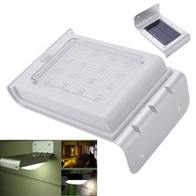 16 LEDs Solar Powered Human Body Sensitive Motion Sensor Light Waterproof Home Garden Security Lamp Outdoor Wall Lights(China (Mainland))