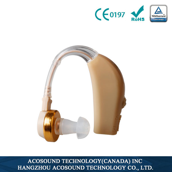 INVAXE Hearing aid , AcoMate Recharger BTE Type Hearing Amplifier ,cheap and easy use(China (Mainland))