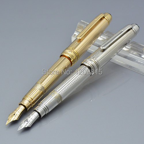 2015 New Luxury meisterstuck 163 MB Mini Fountain Pen with carved rod School Office Stationery Cute Metal writing ink pens F1<br><br>Aliexpress