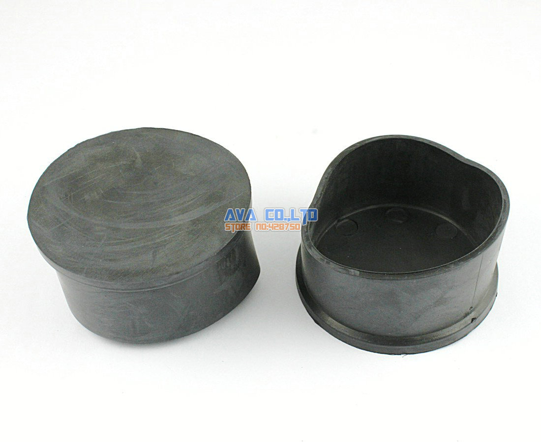60mm round rubber furniture chair table leg cover floor protector