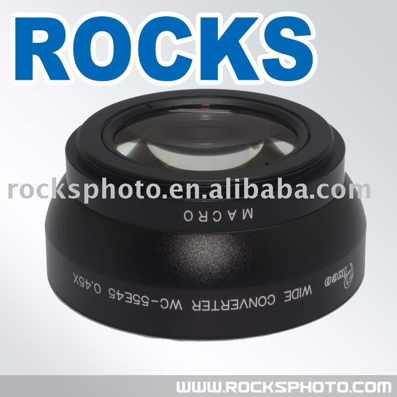 Pixco 55mm 55 mm 0.45x Wide-Angle Lens With Macro lens<br><br>Aliexpress