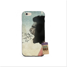 A Man Riding A Bike Luxury Accessories Shell Original Cover For iphone4 5s 6s 6plus Brand Mobile Phone Cases