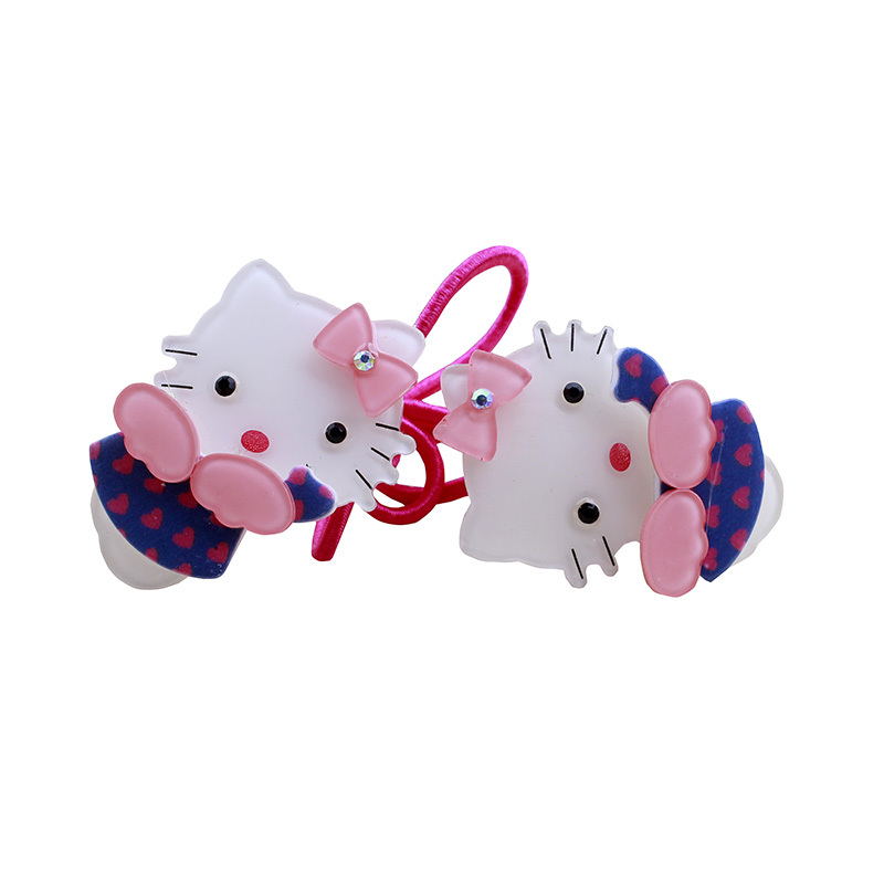 2016 hair accessory hello Kitty hair clip side-knotted clip hairpins child accessories multicolor wholesale Factory direct sale(China (Mainland))