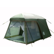 2014 Hot sale outdoor 5-8 persons beach camping tent anti/proof wind/rain UV/waterproof 1room 1hall for sale/on sale(China (Mainland))