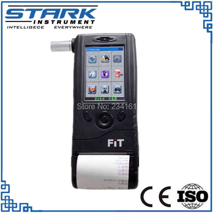 FiT333 digital fuel cell breath alcohol tester with printer for police(China (Mainland))