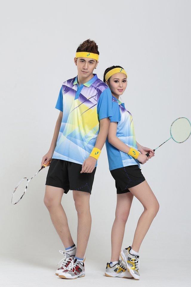 Free Shipping Badminton Uniform Set Men/Women Clothes Table Tennis sport set NEW(China (Mainland))