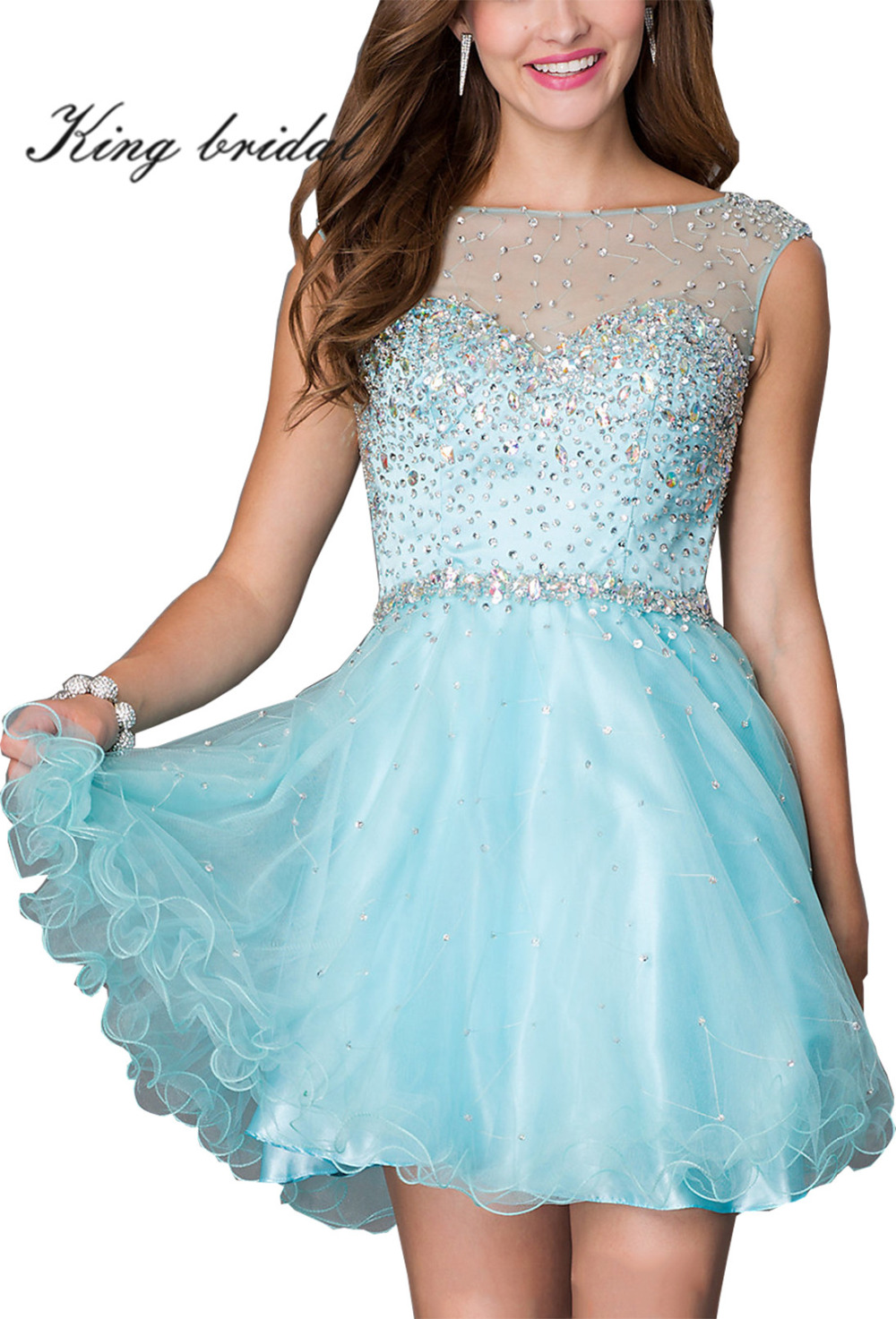 Enchanting Cheap Black Party Dress Festooning - All Wedding Dresses ...